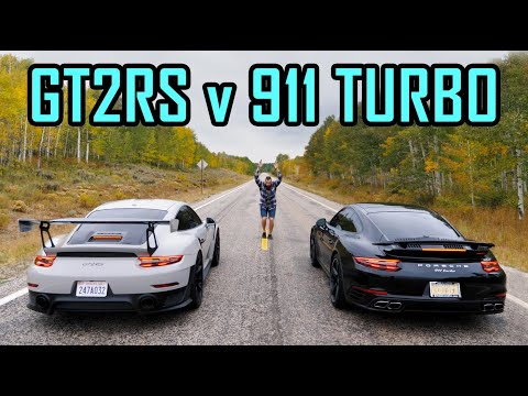Porsche GT2RS VS Porsche 911 Turbo