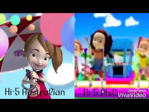 Hi-5 Philippines and Australia Open Theme Song