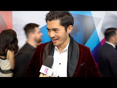Henry Golding On Working With Blake Lively &  Crazy Rich Asians VS A Simple Favor | Hollywoodlife