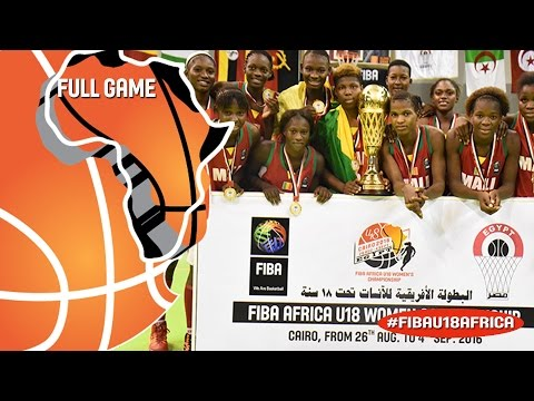 Egypt v Mali - Full Game - Final - 2016 FIBA Africa U18 Women's Championship