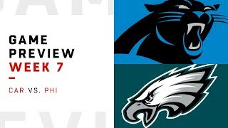 Carolina Panthers vs. Philadelphia Eagles | Week 7 Game Preview | Move the Sticks