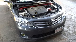 How To Put The Front Bumper Back On The 2009-2013 Toyota Corolla