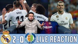 Real Madrid vs Getafe 2-0 | REACTION