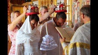 Венчание Андрея и Натальи. Свято-Покровский храм