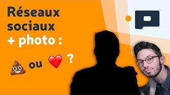 Réseaux sociaux + photo : ? ou ♥️ ?