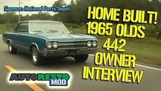 1965 Olds 442 Built by Owner Episode 234 Autorestomod - YouTube