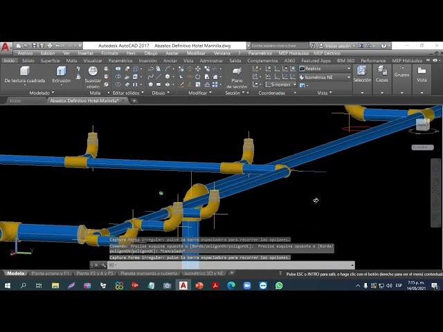 20210514 Redes hidrosanitarias para edificaciones (Abastos) • Ing. León Gallegos | Máster class
