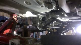 Ауди A6 C6. Замена сайлент блоков балки передней подвески. МИРовой влог