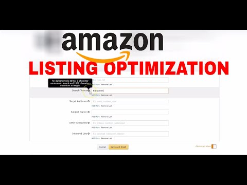 Amazon Algorithm Change 2017 How To Set Up Back End keyword 250 Characters Indexing