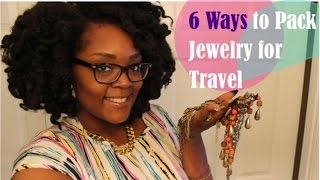 6 Ways to Pack Jewelry for Travel