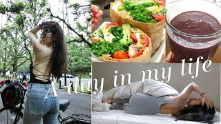 【1日密着vlog】A day in my life 【Tokyo】【仕事のある日】【在日本工作的一天】収録/トレーナー/食事