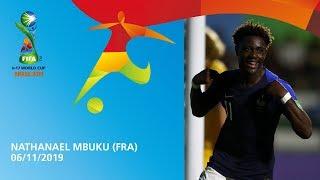 Mbuku v Australia [GOAL OF THE TOURNAMENT] - FIFA U17 World Cup 2019