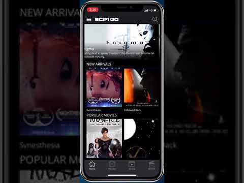 SCIFI GO: Watch Sci-Fi movies, Free Sci Fi channel - Apps on