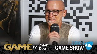 Game TV Schweiz - Interview mit Zafer Devrim | MARKETINGMANAGER BANDAI NAMCO ENTERTAINMENT |  Zürich Game Show