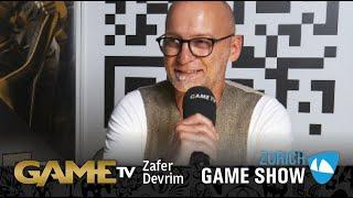Game TV Schweiz - Interview mit Zafer Devrim   MARKETINGMANAGER BANDAI NAMCO ENTERTAINMENT    Zürich Game Show