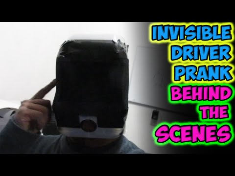 Invisible Driver Prank Behind The Scenes!