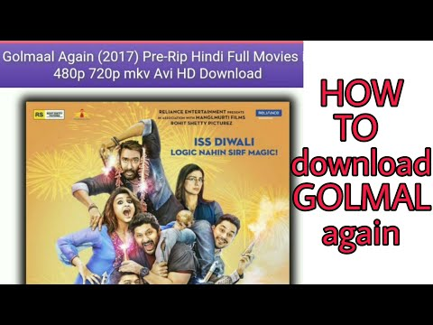 How to download GOLMAL again in full hd || link in description
