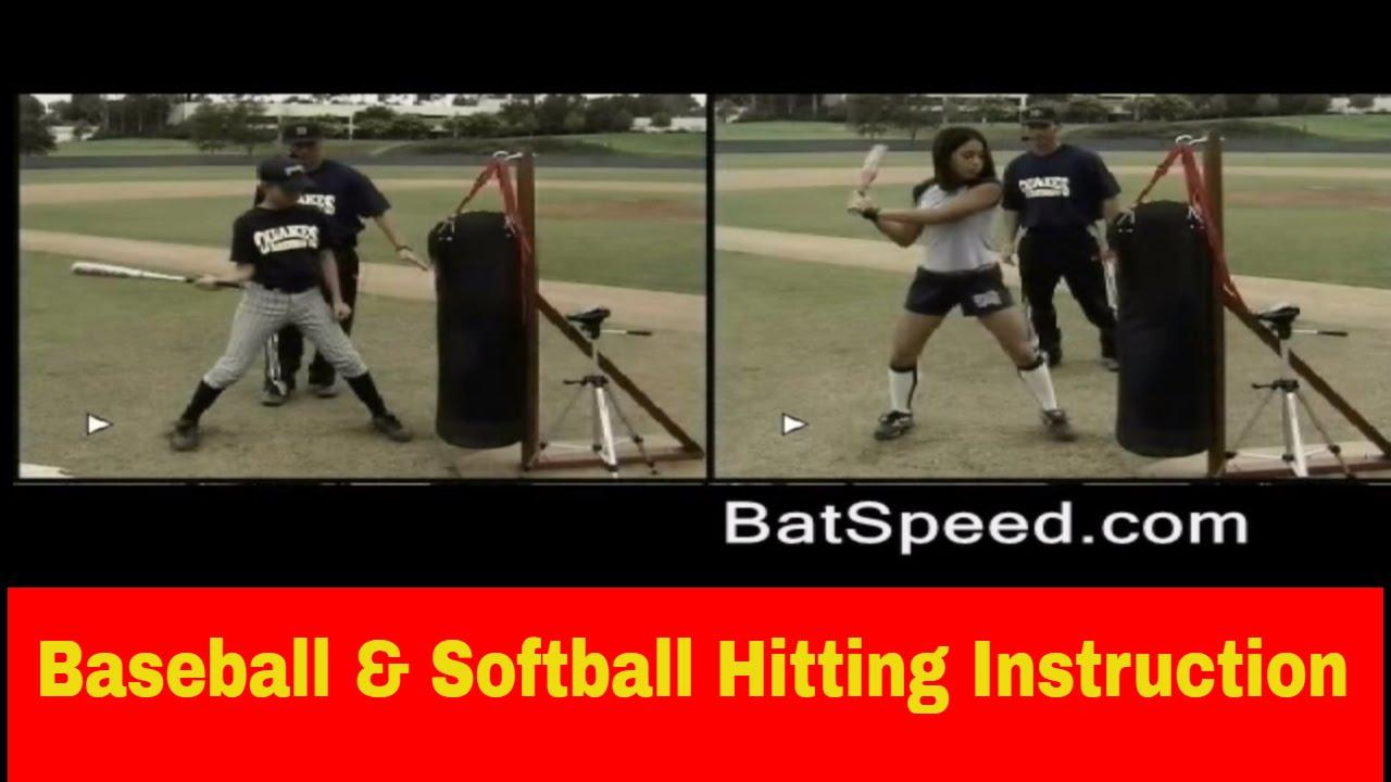 Baseball Softball Hitting Instruction Drills How To Increase