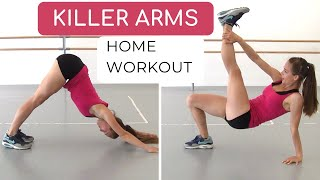 KILLER ARM Workout to do at home // sculpt and strengthen