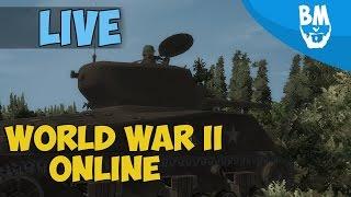 World War II Online Live Streaming | WWII Online: Battleground Europe