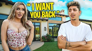 My Ex-Girlfriend Visits My New House... **awkward**