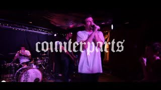 Counterparts - The Constant / Only Anchors / To The Grave - Live