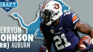 Detroit Lions: Traded up and Select Wildcat Beast Kerryon Johnson