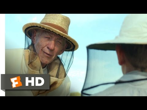 Mr. Holmes (4/12) Movie CLIP - A Lesson In Beekeeping (2015) HD