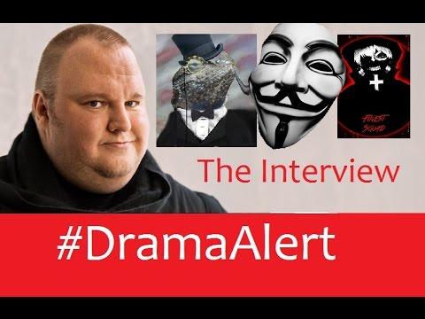 The Interview #DramaAlert - Kim Dotcom , Lizard Squad , Anonymous & Finest - PSN & XBL Still Down!