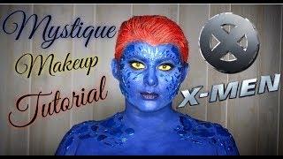 Mystique Makeup Tutorial