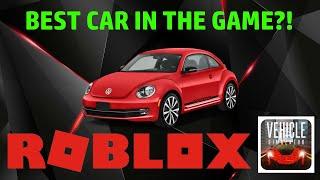 O MELHOR CARRO DO JOGO!!! (Besouro de Volkswagon)   Roblox veículo Simulator