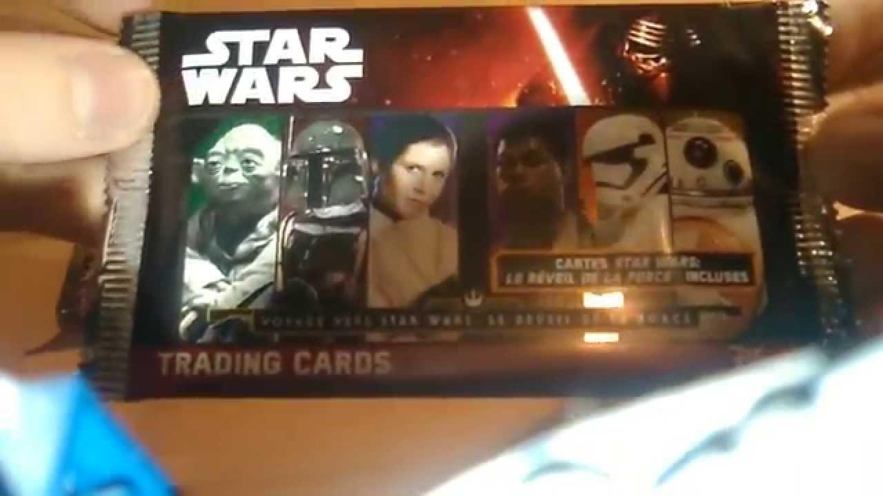 premi u00e8re vid u00e9o    ouverture de cartes pokemon et star wars