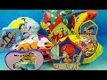 1994 Disney's Aladdin The Series set of 5 Burger King Kids Meal Toys Video Review