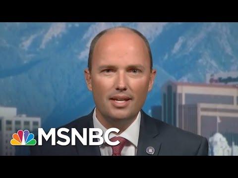 LGBT Community Praises Republican Utah Governor | Andrea Mitchell | MSNBC