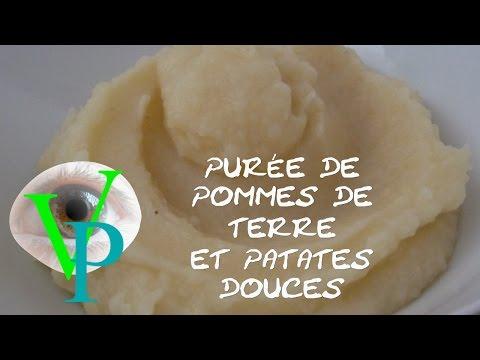purée-de-pommes-de-terre-et-patates-douces