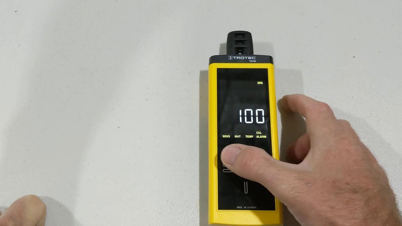 TROTEC Testeur dhumidit/é T510