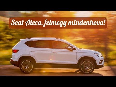 Seat Ateca SUV - Elképesztő akadályok? Neki semmiség!