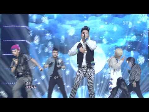 BIGBANG [BLUE] @SBS Inkigayo 인기가요 20120318