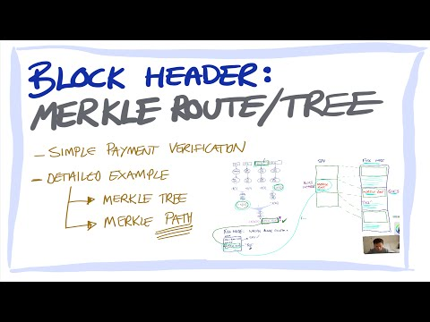 Blockchain/Bitcoin for beginners 7: Blockchain header: Merkle roots and SPV transaction verification