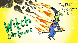Witch Cartoons | The BEST Of Cartoon Box | by FRAME ORDER | Funny Cartoon Compilation | Dark humor
