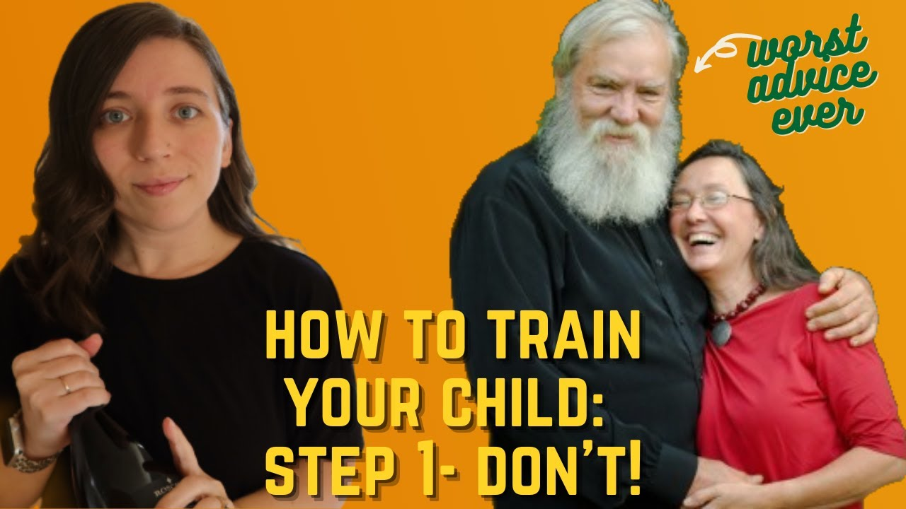 GOD WANTS YOU TO BE MEAN TO YOUR KIDS, I GUESS   To Train Up A Child