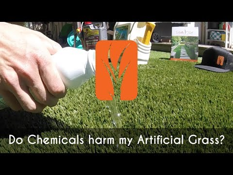 Will Chemicals Harm my Artificial Grass?