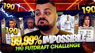 99,9% IMPOSSIBILE ! 190 FUT DRAFT CHALLENGE [FIFA 18]