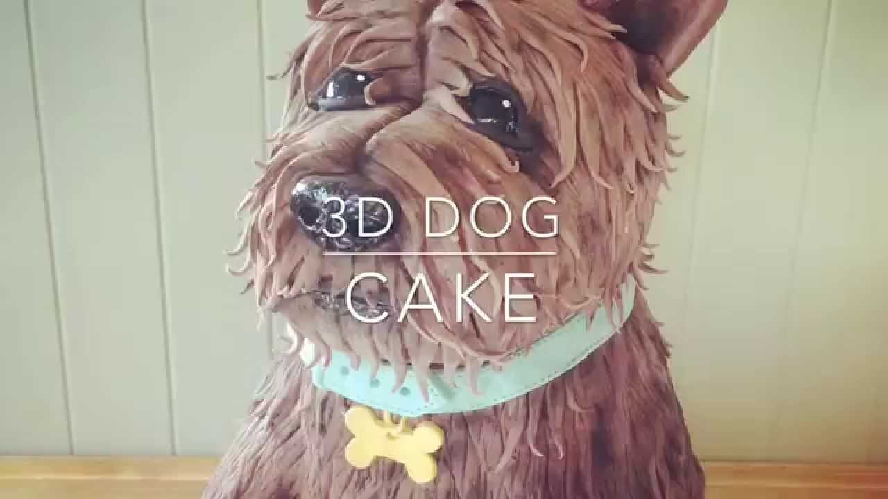 How To Make Puppy Dog Cake