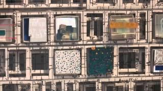 "Artist Katsumi Hayakawa talks about his exhibition ""Paper Works"" at..."