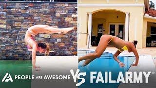 Painful Yoga Wins Vs. Fails & More! | People Are Awesome Vs. FailArmy