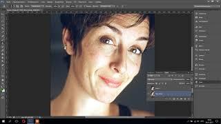 Видео-урок №1 Ретушь лица в PhotoShop CS 6