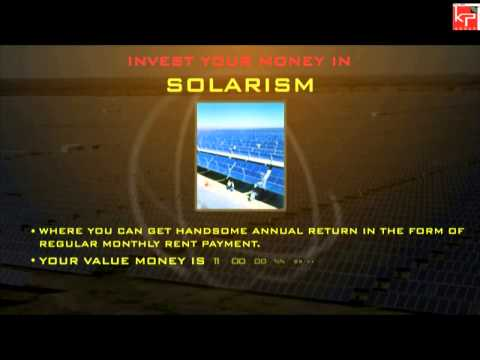 Solar Energy based property investment project by KP Group