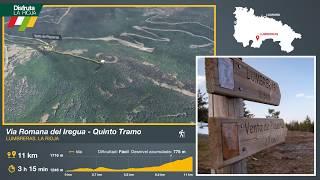 Quinto tramo de la Vía Romana del Iregua, Lumbreras. Disfruta La Rioja