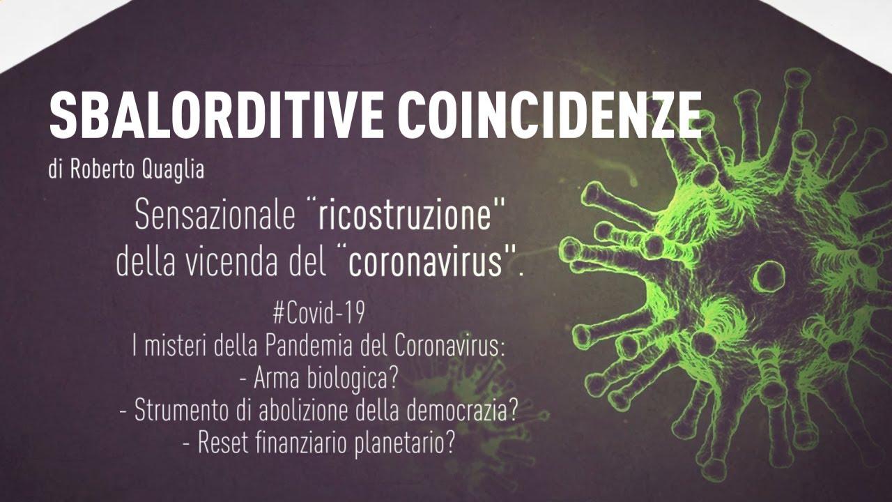 #Covid19 - Sbalorditive coincidenze